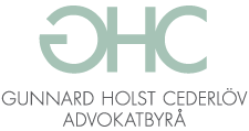 Gunnard Holst Cederlöv Advokatbyrå Logotyp